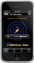 Click Here To Learn More About listening to KC Cafe Radio on your Android or iPhone mobile device via Tune In Radio