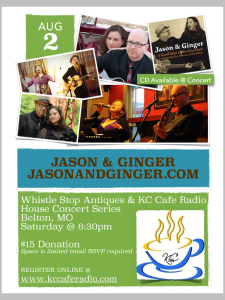 KC Cafe Radio Concert Series: Jason & Ginger