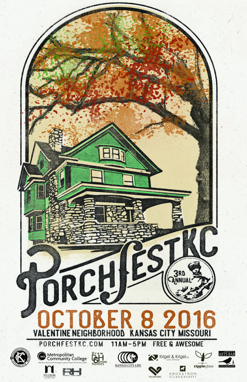 PorchFest 2016 Poster