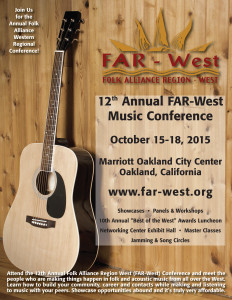 Folk Alliance Region West 2015 Conference