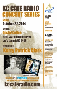 KC Cafe Radio Concert Series: Kerry Patrick Clark