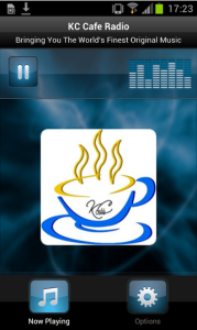 KC Cafe Radio App Screenshot