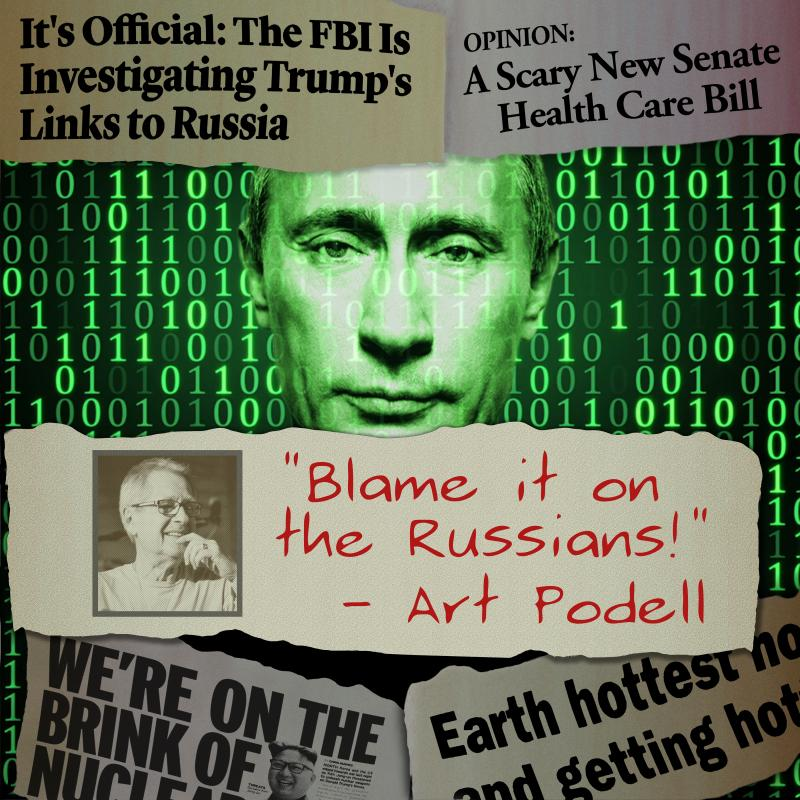 Art Podell - Blame it on the Russians