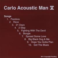 Carlo Acoustic Man - V