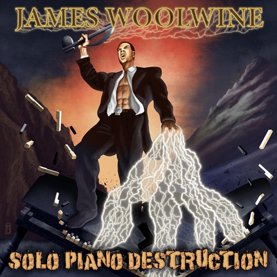 James Woolwine - Solo Piano Destruction